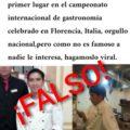 """Hacen viral noticia falsa de """"chef"""" zacatecano"""